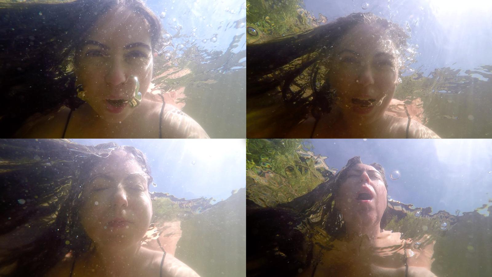 Stills from single-channel video.