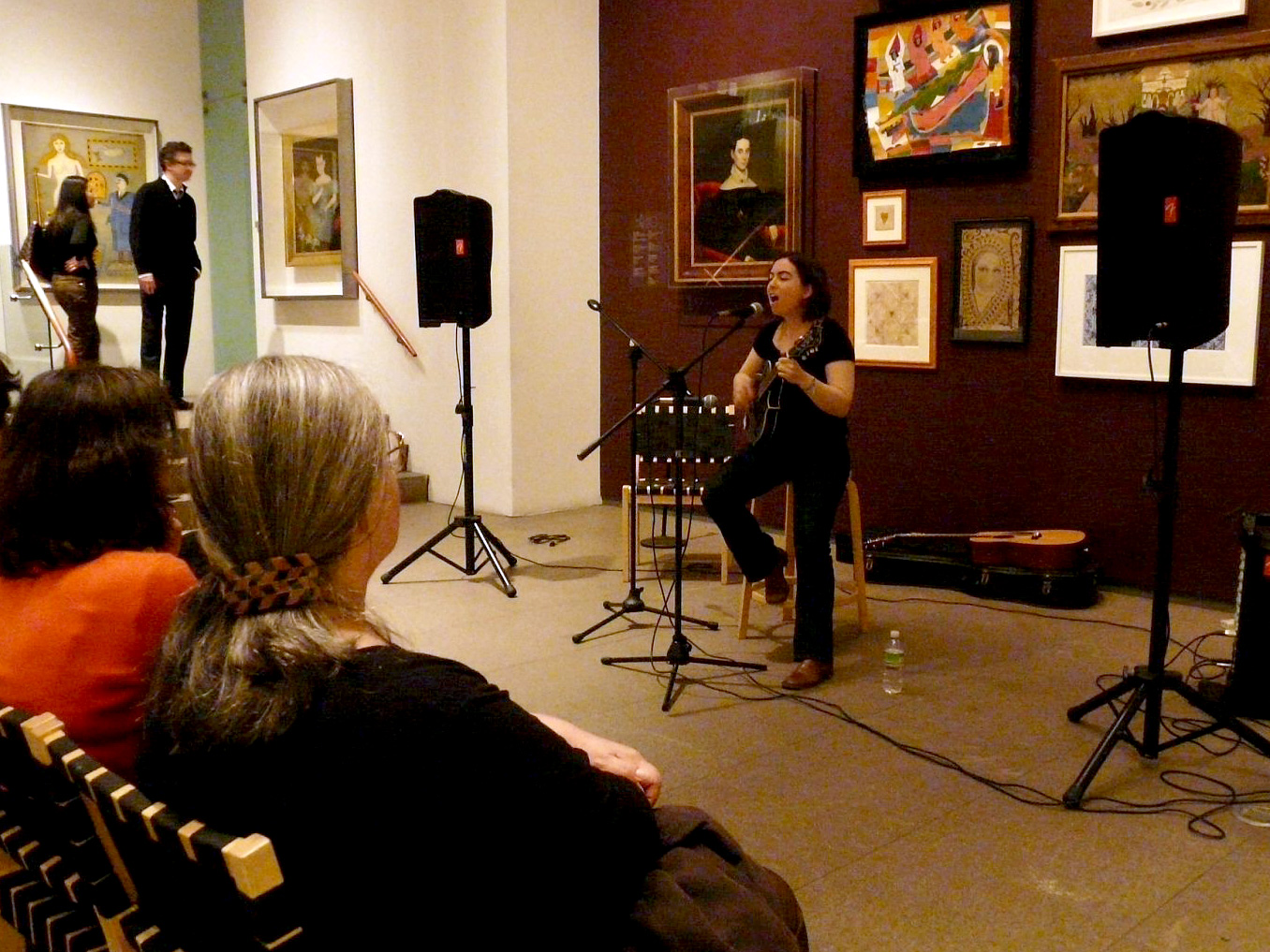 Performance of Songs of Lewis & Clark at The American Folk Art Museum in New York City, April 2009.