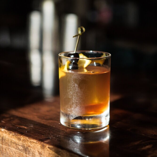 Old Fashioned - PARLOUR BAR MPLS & STP
