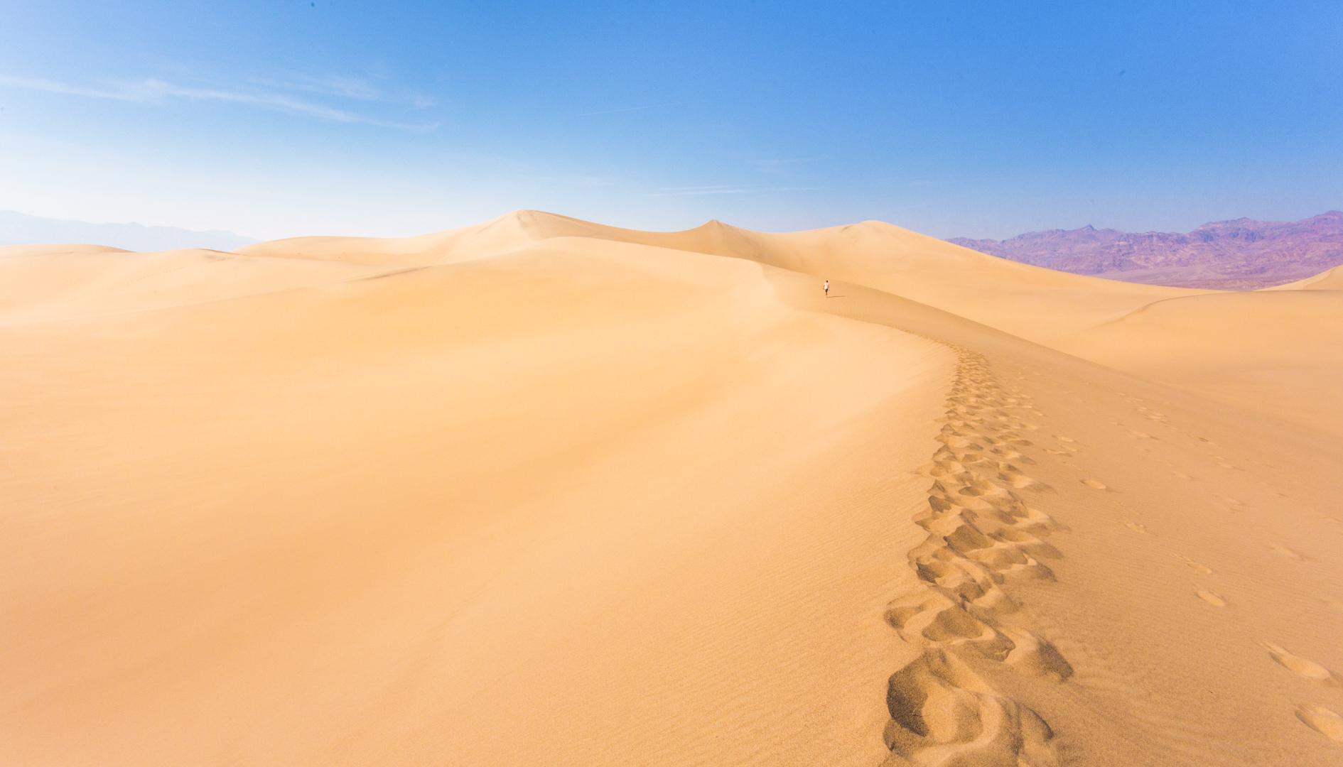 Death Valley Sand Dunes, CA, USA