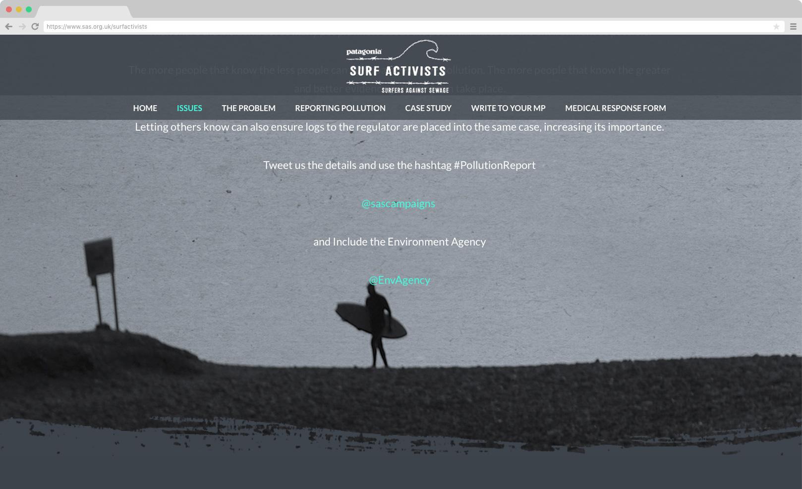 Surf Activists / Surfers Against Sewage
