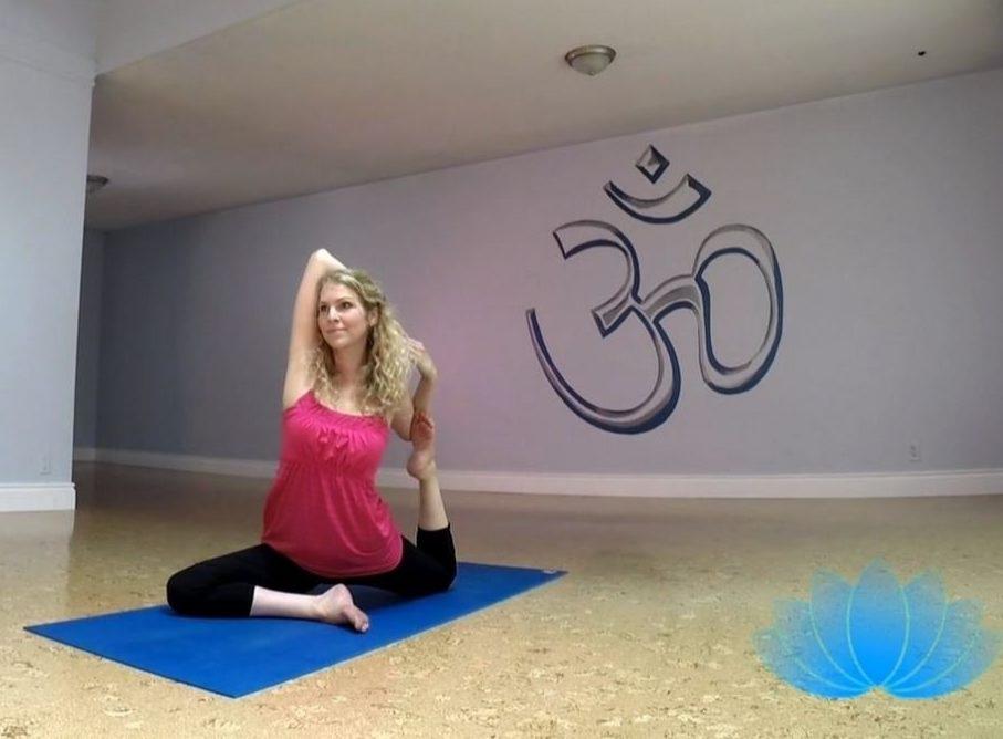 Carolyn at Maha Pura Yoga Studio