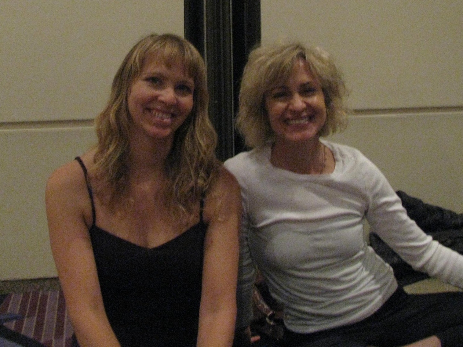 Carolyn studying alignment with Natasha Rizopoulos