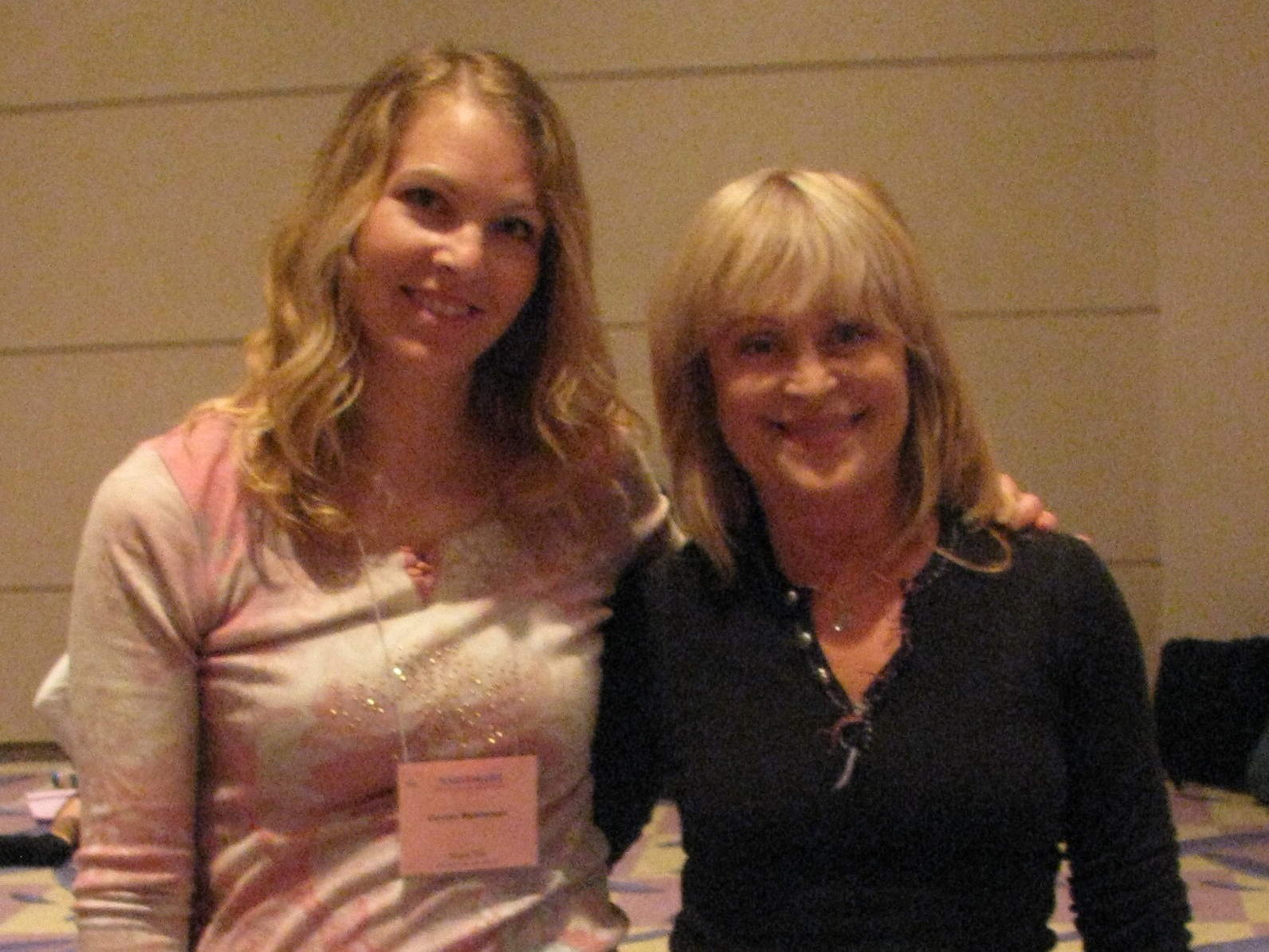 Carolyn Weatherson studying Pilates with Mari Winsor