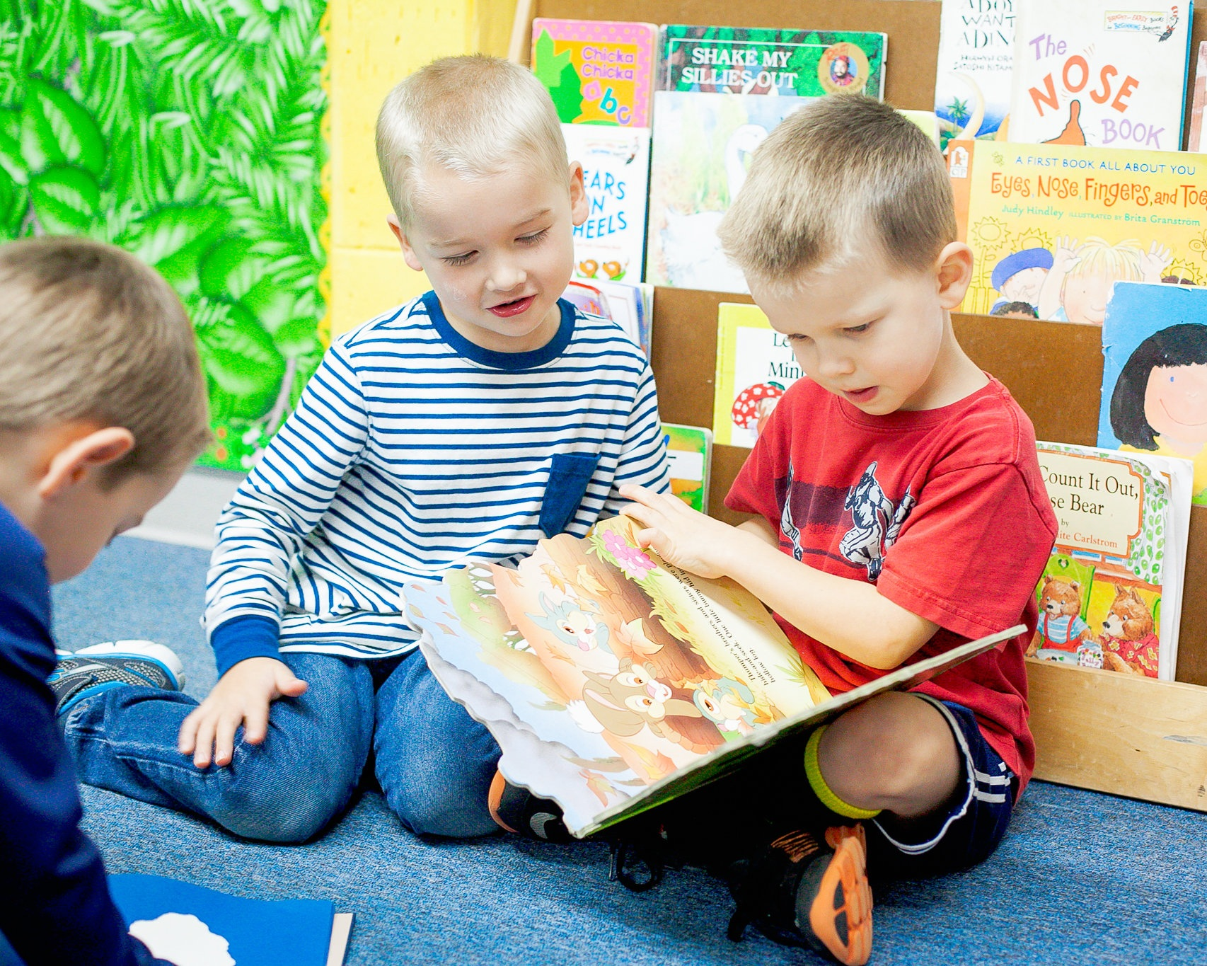 Pre-k (4-5 year olds) - Mon, Wed & Fri9:00 a.m. – 11:30 a.m.