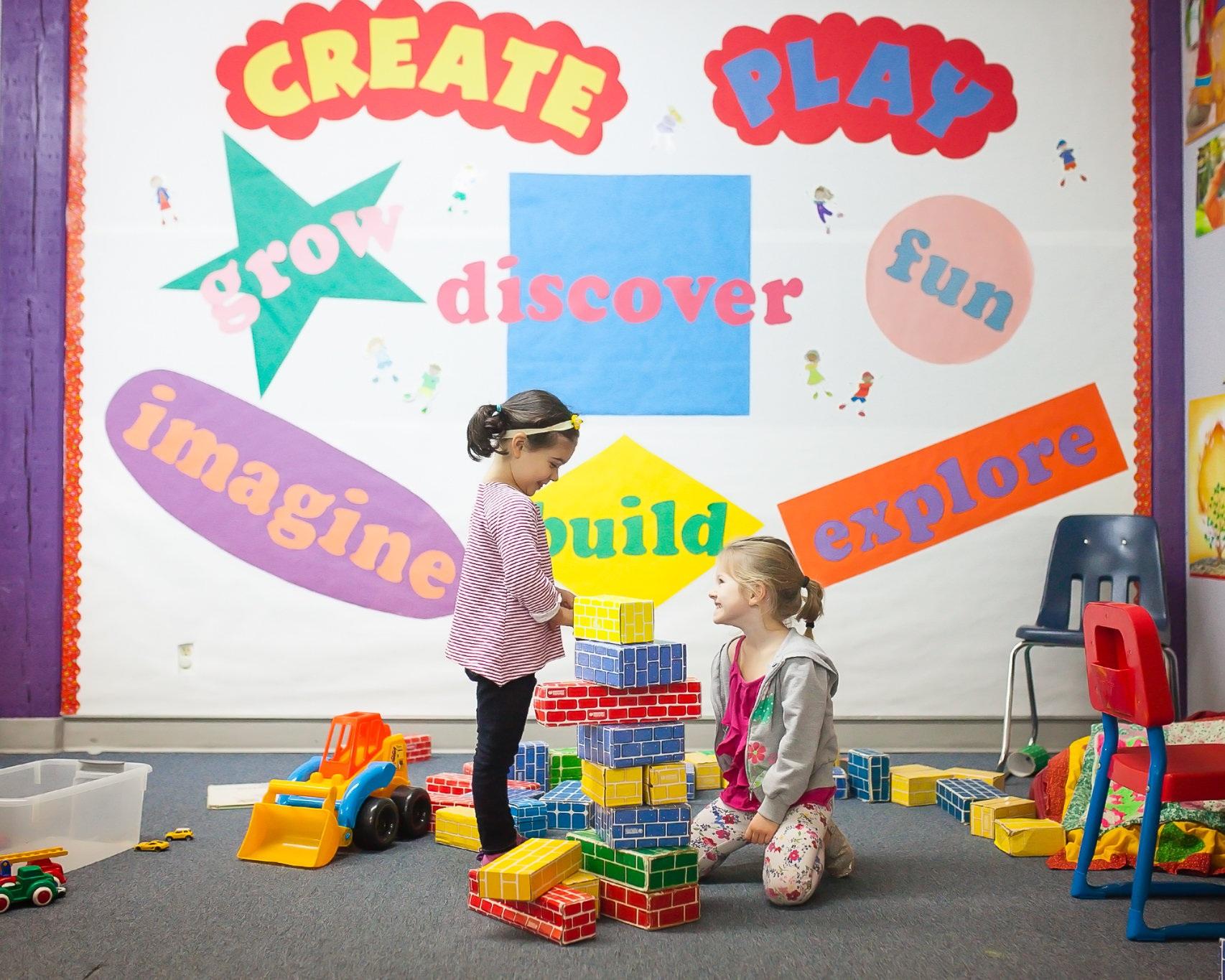 create & play - Wednesdays9:00 a.m. – 11:30 a.m.