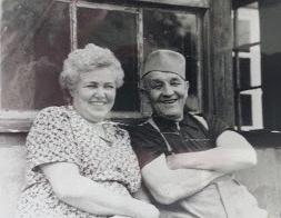 The farmers who hid them… - Paula & Arthur Schmidt, 1958