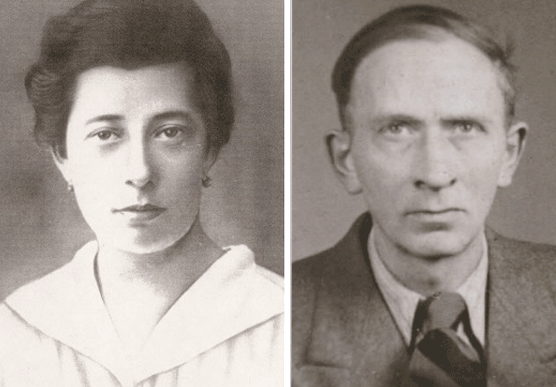 The mother who fought for others,and father, the unsung hero of the family… - Lina and Alexander Weber