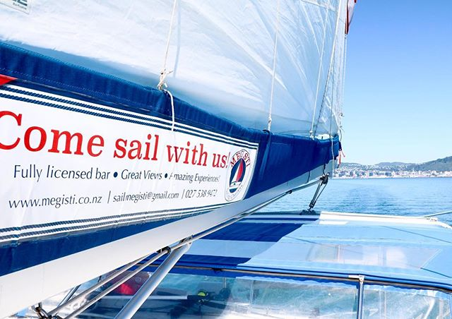 Megisti is now starting to take bookings for November-December time!! Give Tim a call now 0275389472 to reserve your ideal sailing day for your next event!! 💓 #sail #sailmegisti #wellington #wellywood #wellingtonharbour #sailing #nzsailing #sailnz #thingstodonz #mustdonz #nzmustdo #sailwellington #nz #megisti #megistisailing