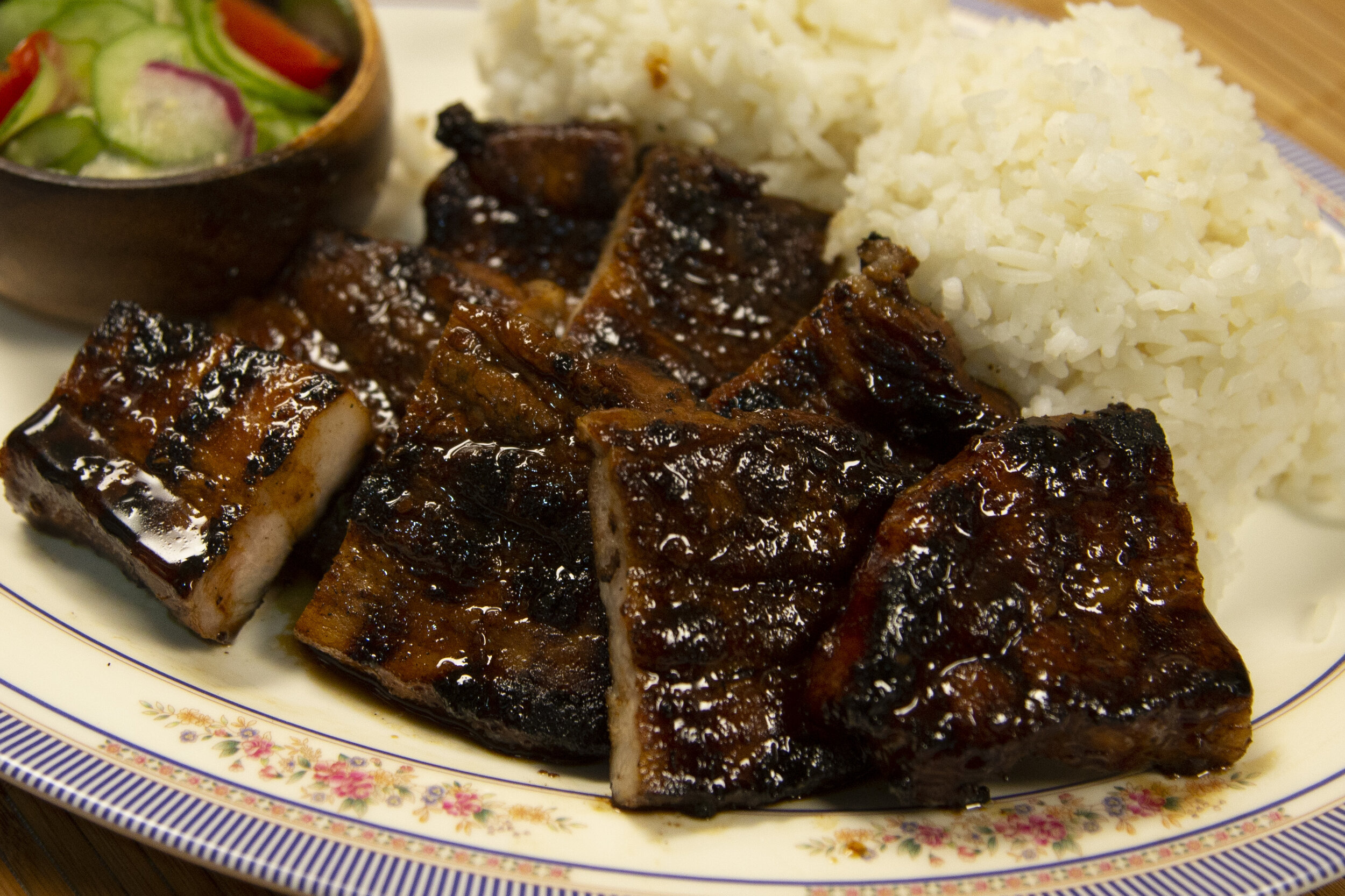 Inihaw Na Baboy Filipino Grilled Pork Belly Rice Guys