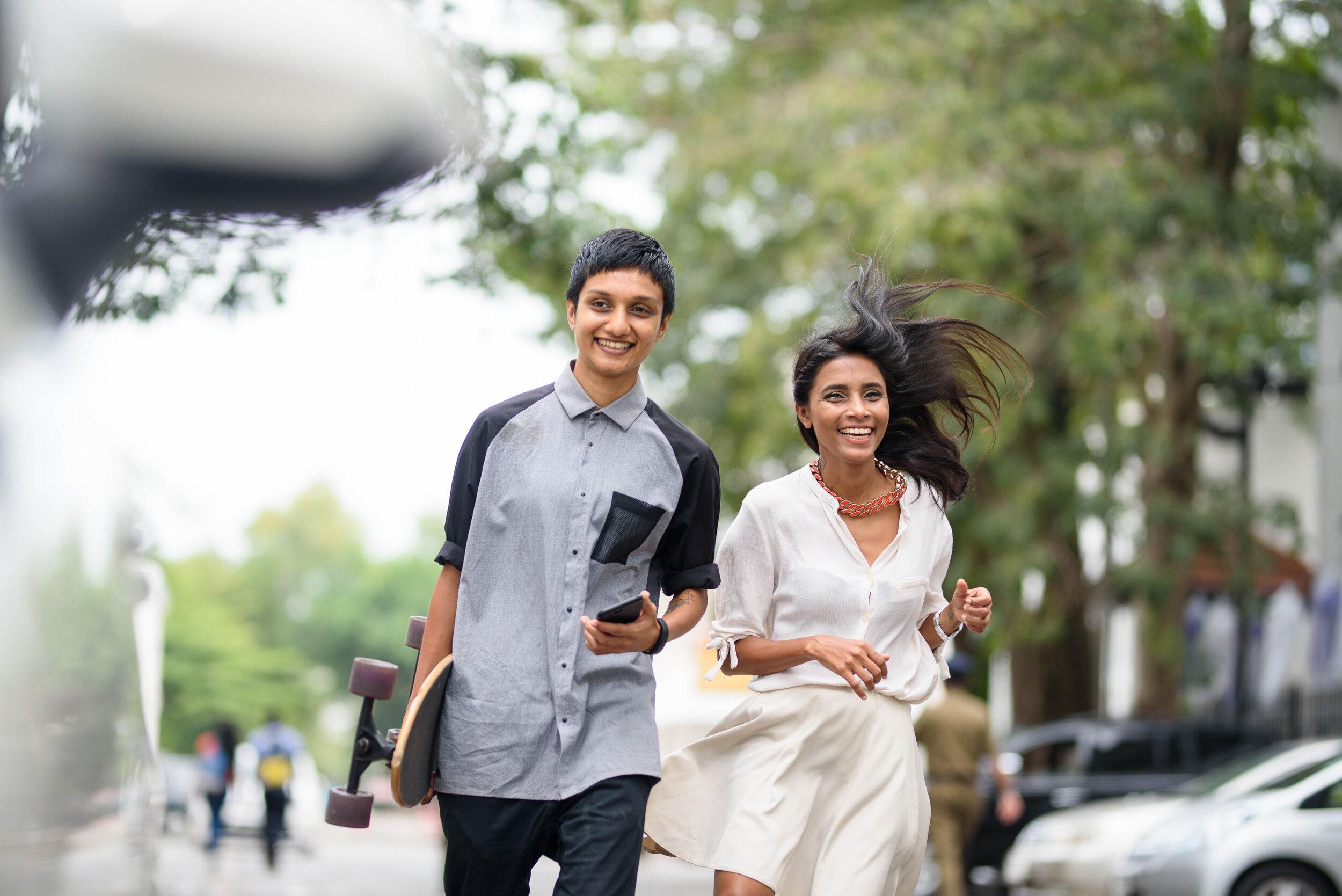Hash & Maanga, power couple, artists, creative entrepreneurs