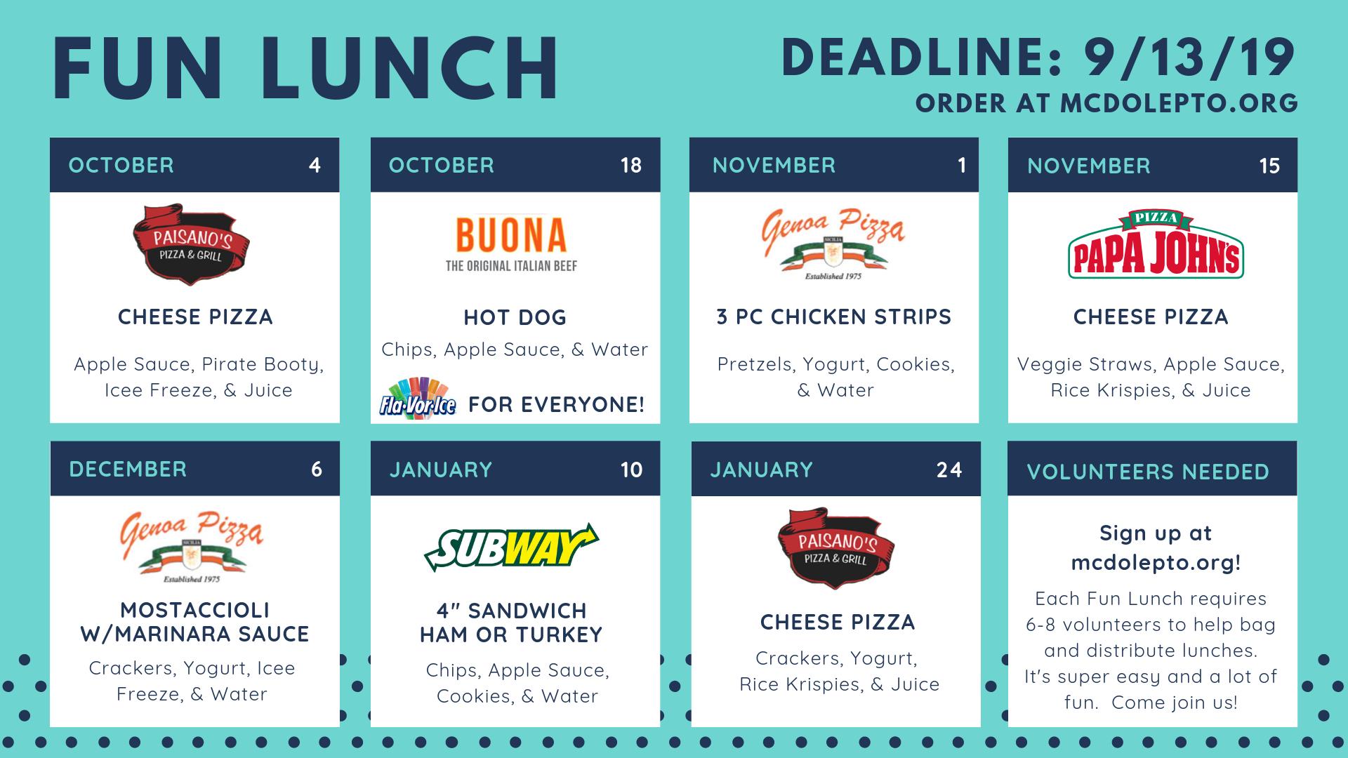 Fall 2019 - Fun Lunch Calendar .png