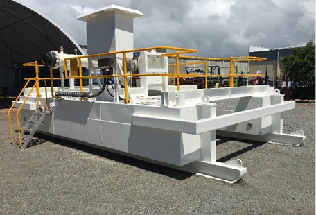Pontoon pump Refurbishment Scope Equipment Hire Mackay