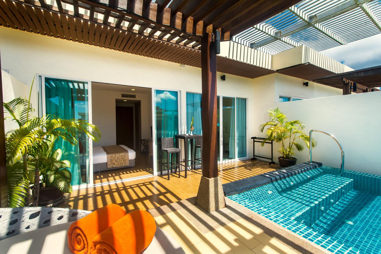 Pool Garden Penthouse Apartment Klong Muang Beach Krabi Thailand