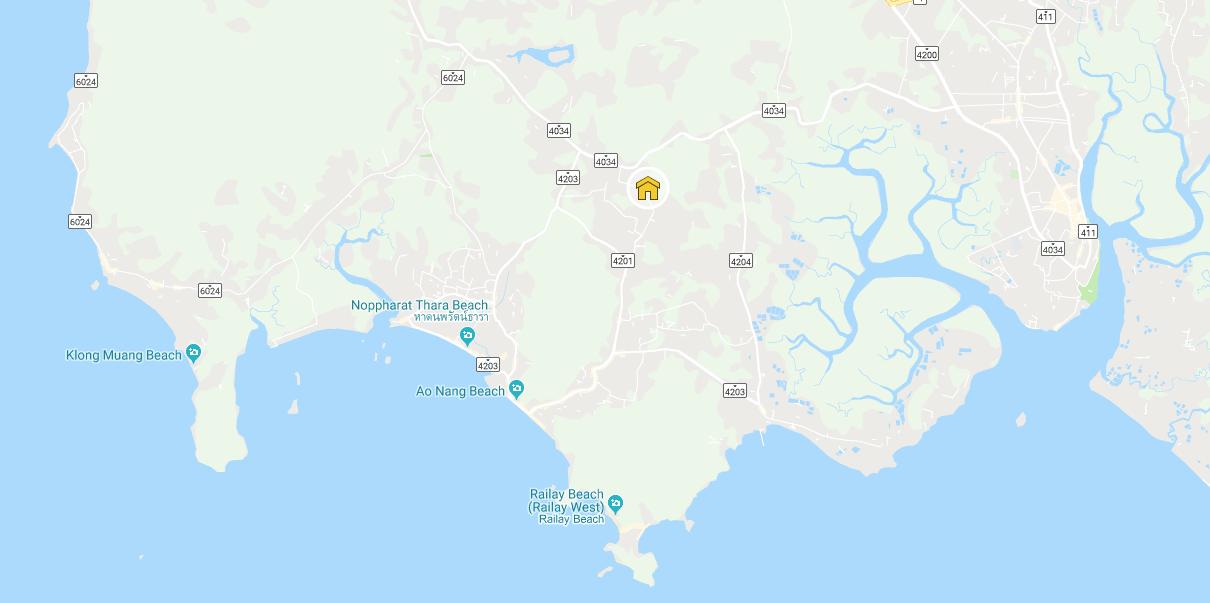 Villa Thai Lee Map