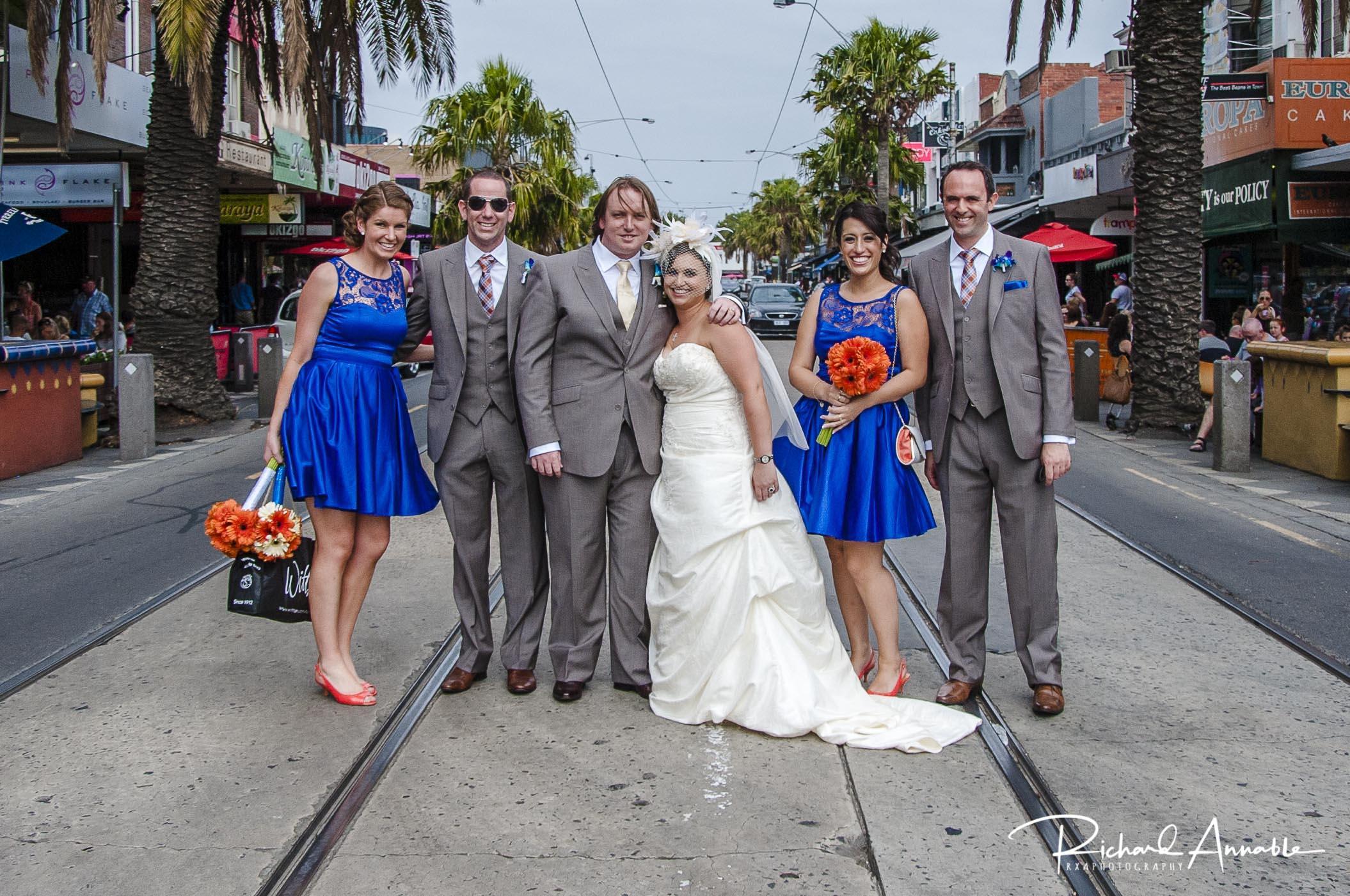 Laura & Bryan - Click here to view photographs from Laura & Bryan's St. Kilda wedding.