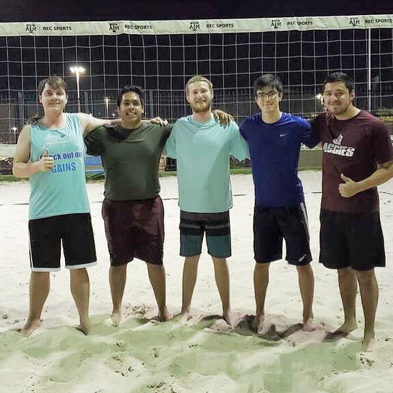 Our IEEE men's volleyball team had their first win last night! 🏆💯