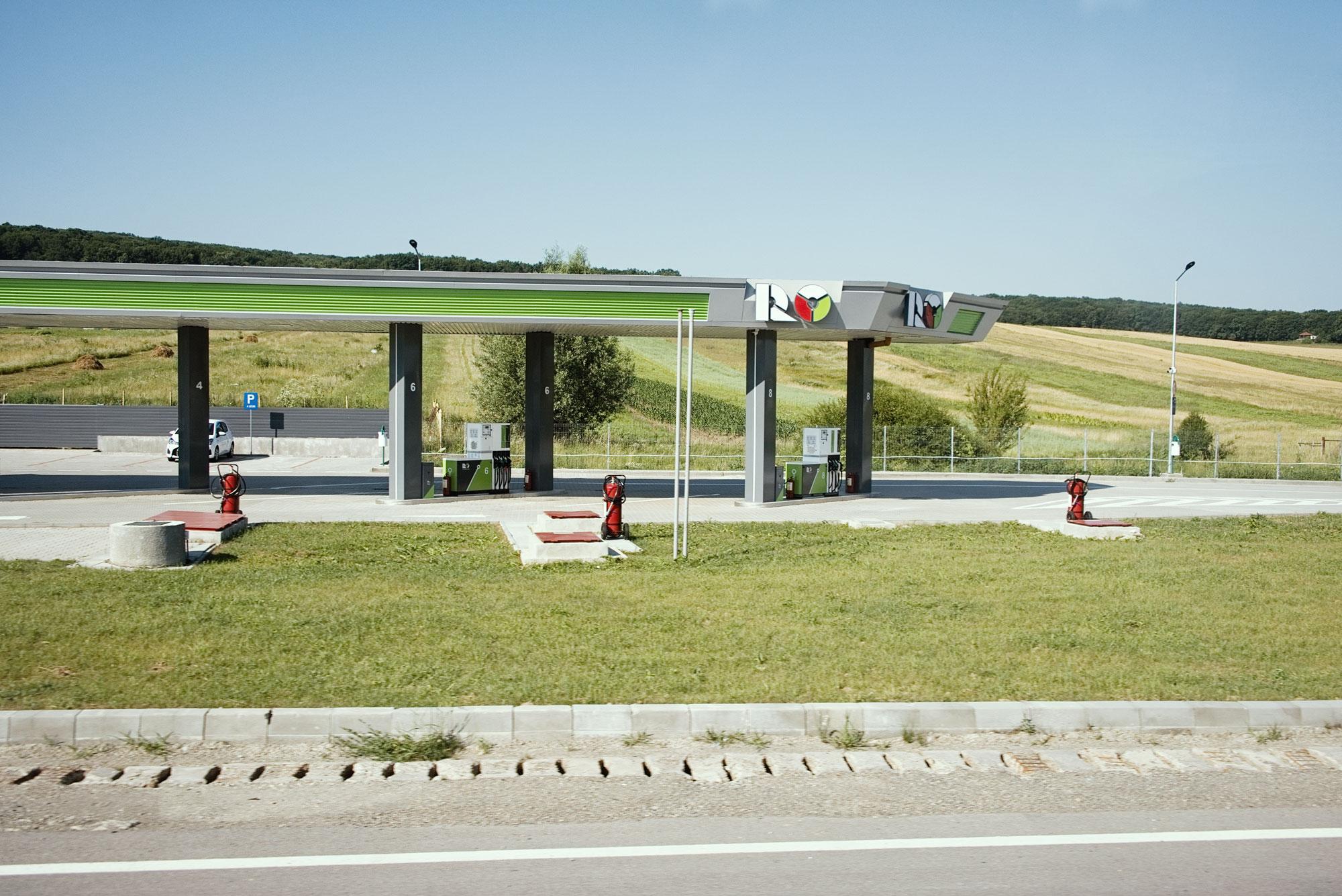 Tankstelle XVII | Rumänien 2019