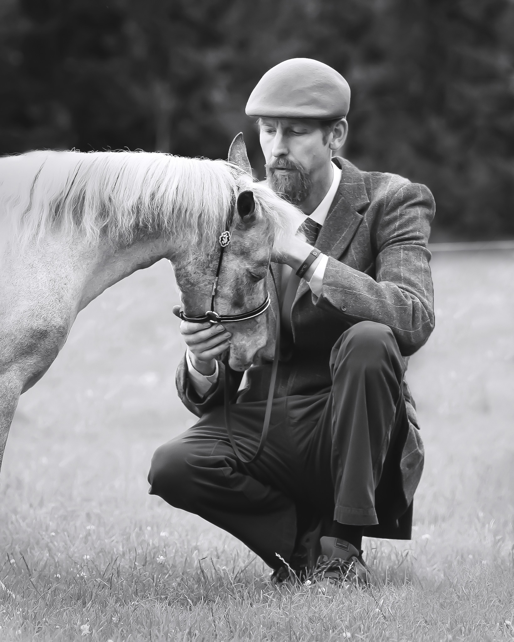 The Bespoke package - A tailored shoot to capture the character of your horse and the bond you share…£195