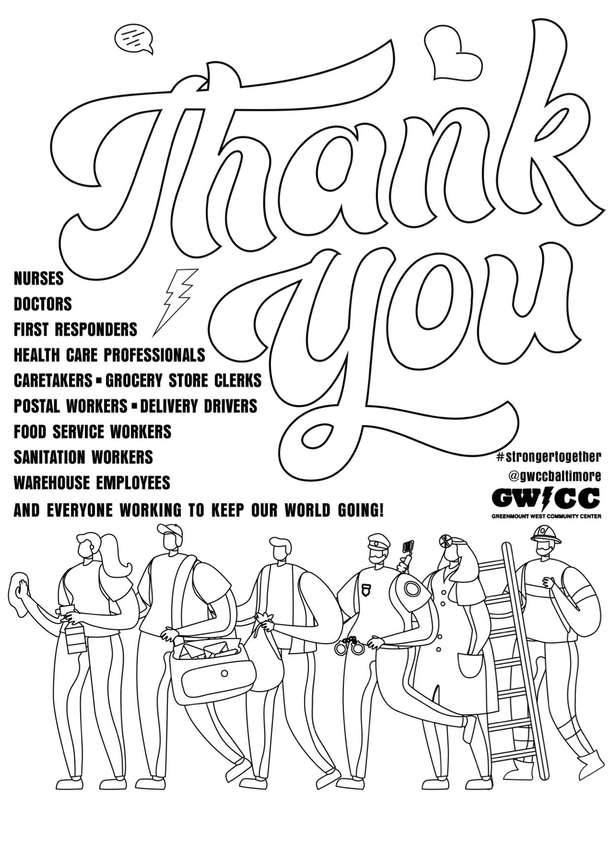 children thank you color page soldiers | And as a thank you for ... | 1415x1000