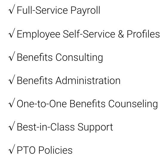 $8/mo per person plus $100 base price - Easy-to-use payroll for smaller teams who want to keep it simple.