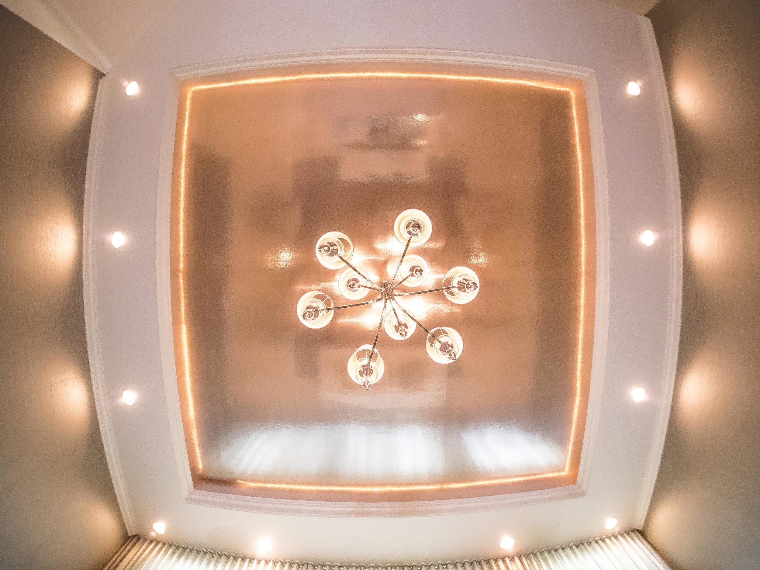Ceiling image with lights and custom ceiling lamps