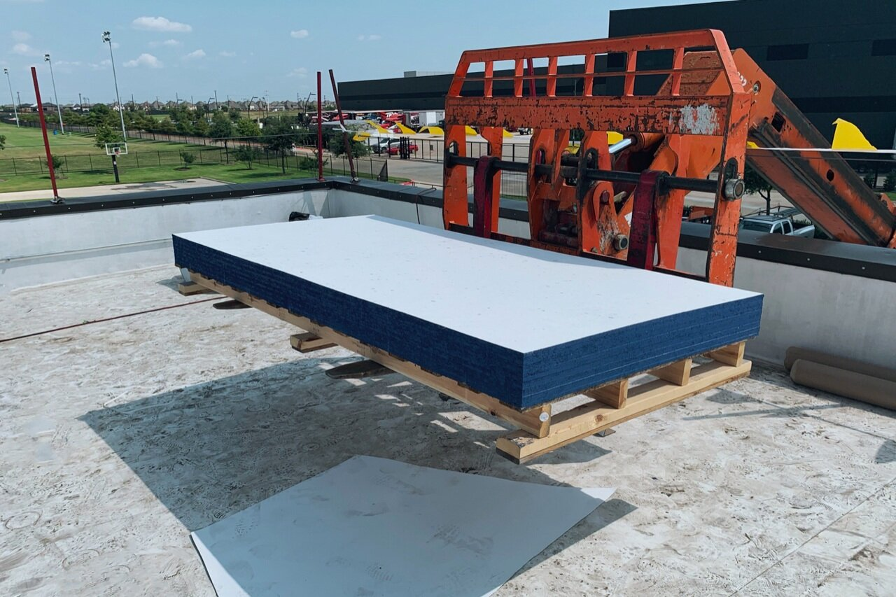 EVERBOARD™ - By using EVERBOARD™ roof cover boards for commercial roof projects, companies with zero waste goals qualify for waste diversion credits that can be applied toward their zero-waste reporting.