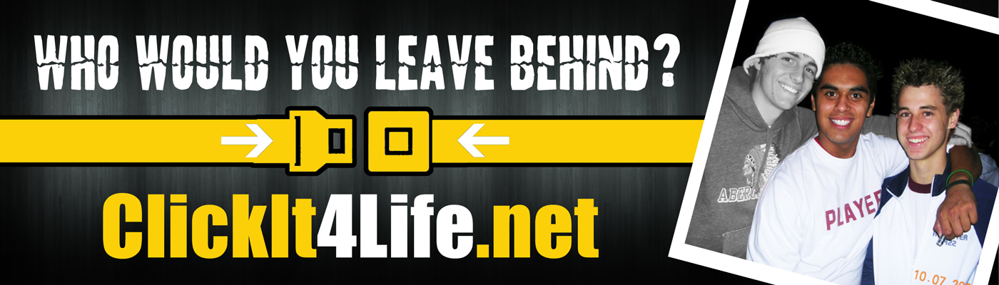 Jake's Story Billboard Campaign ClickIt4Life