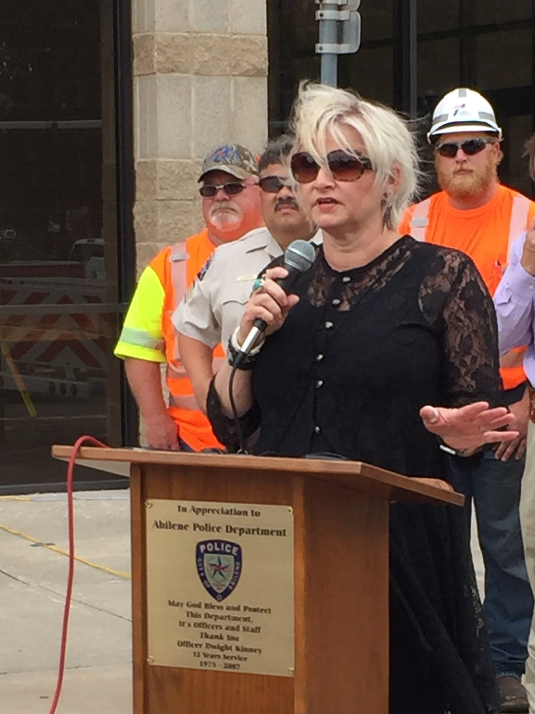 Terri Hoover Speaking For Safe Driving ClickIt4Life