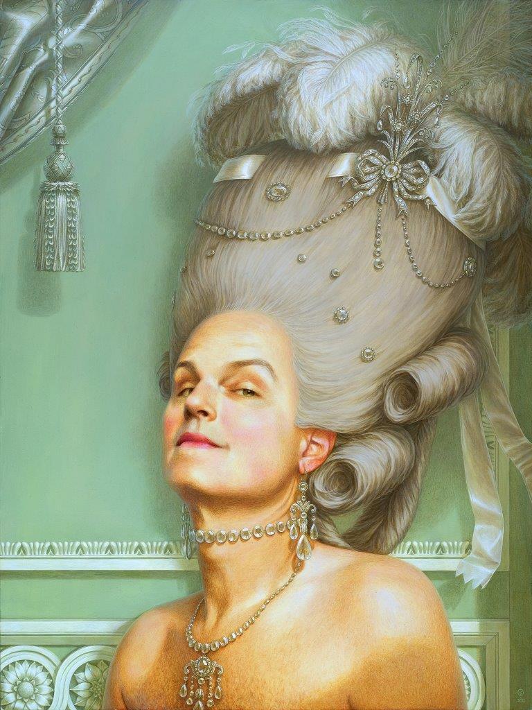 La Légèreté délicieuse de la grandeur - acrylic on panel - 24x18 - 2012.jpg