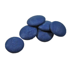 Merckens Colored Chocolate - We carry several of the Merckens brand colored chocolates, including dark and light blue, pink, red, and green.