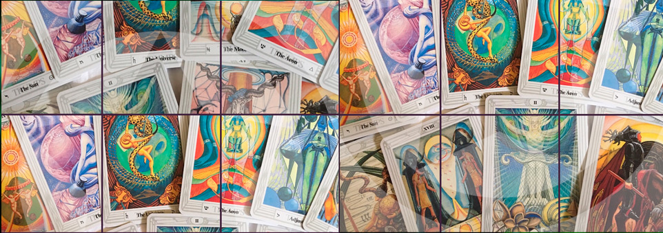 The Thoth Deck, created by Aleister Crowley and Lady Freida Harris.