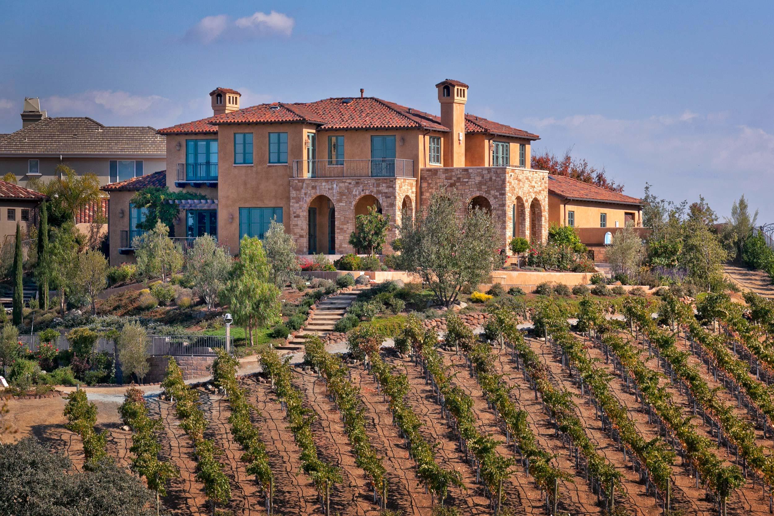 Tuscan Vineyard in Almaden Valley, 95120