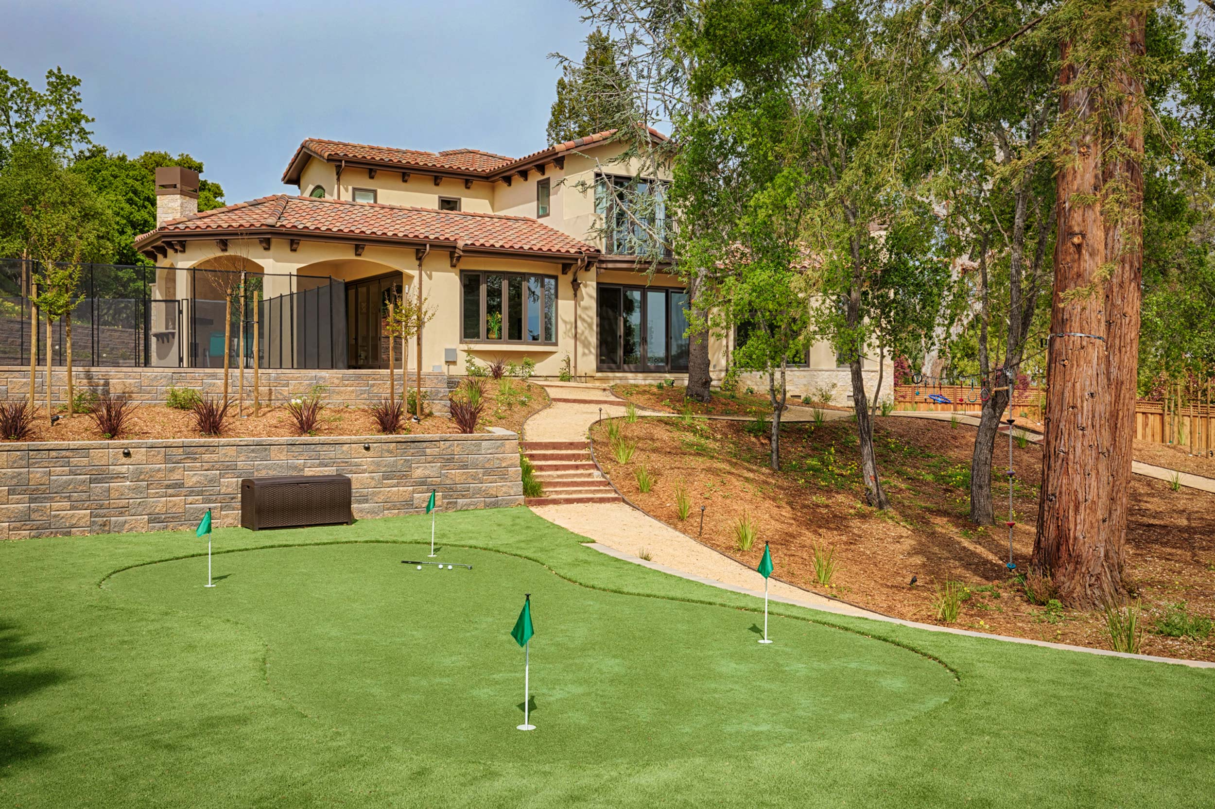 Tuscan Traditional Home in Saratoga, 95070