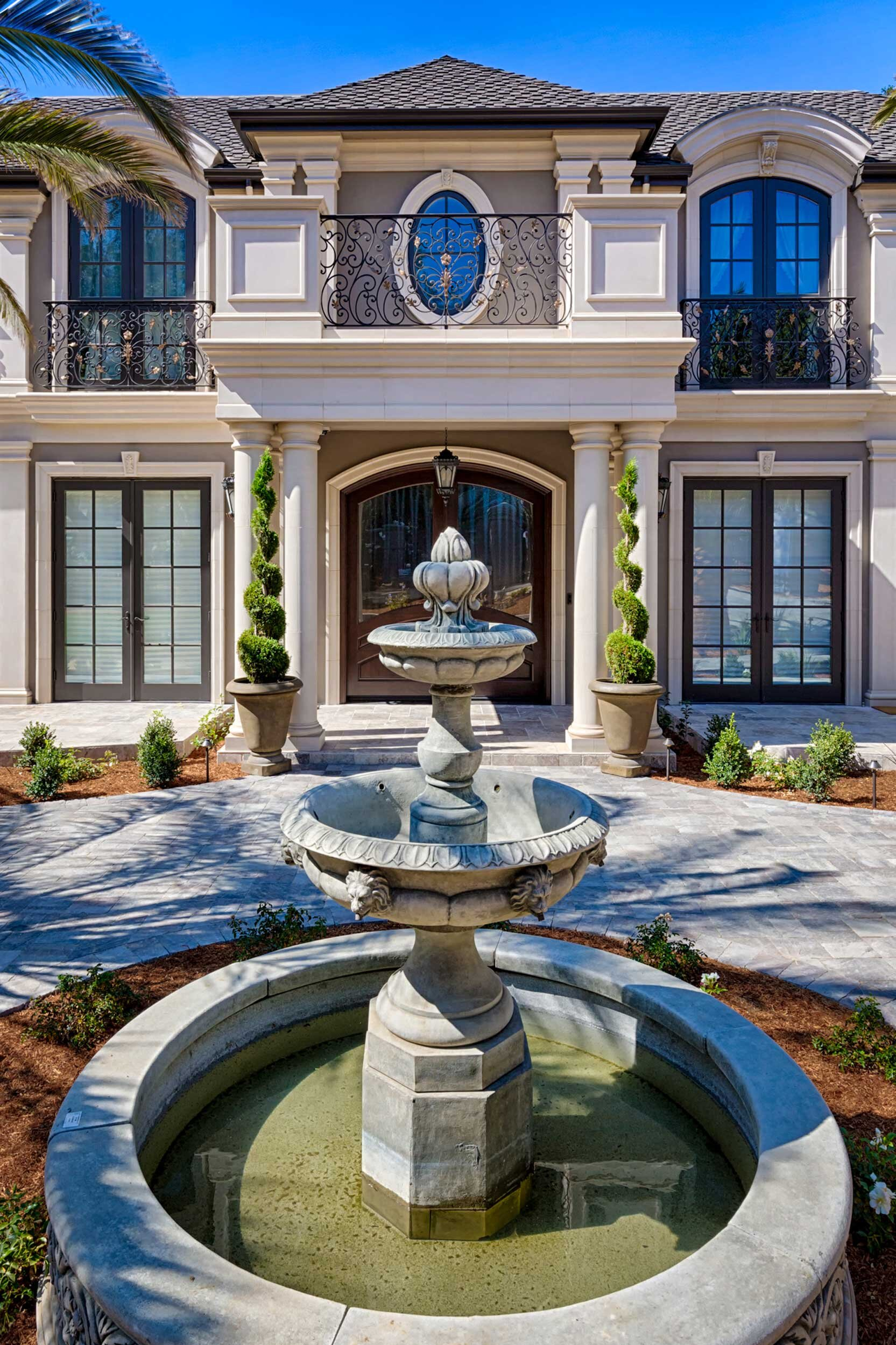 French Chateau Home in Saratoga, 95070