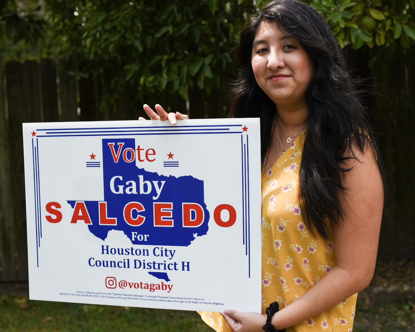 Gaby Salcedo - For Houston City Council District H