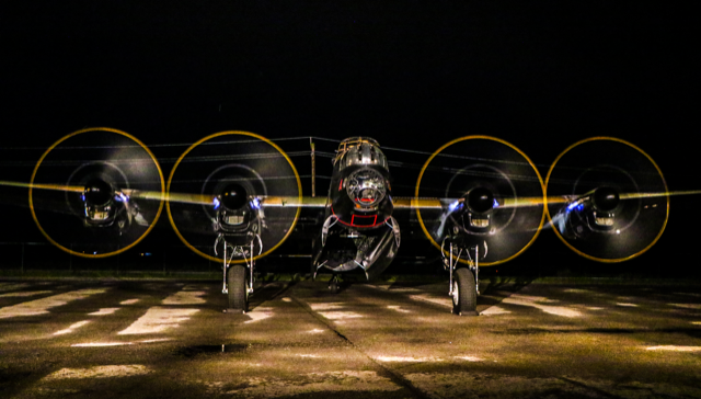 Lancaster Night Run-up