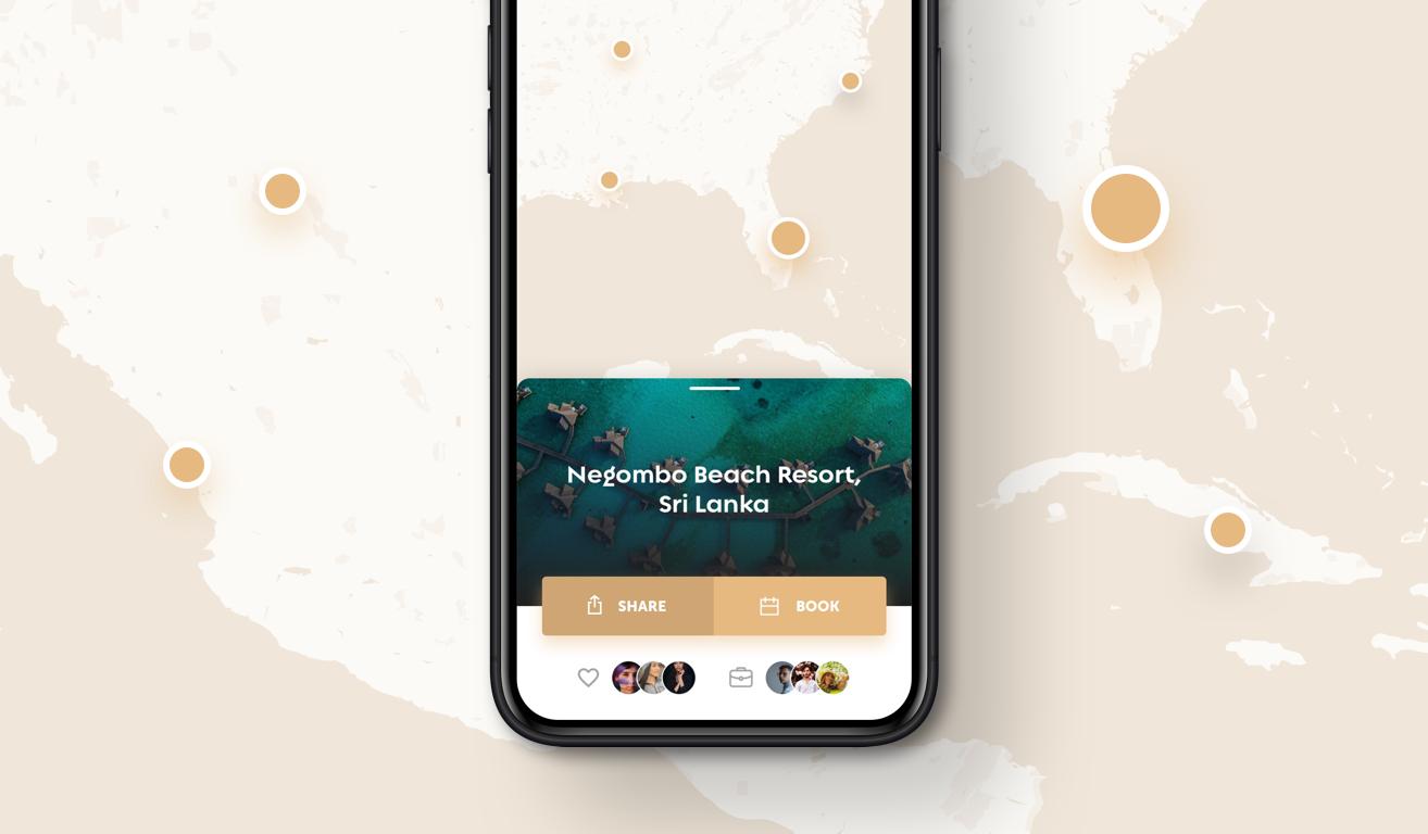 Legends iOS App UI Design – Thumbnail