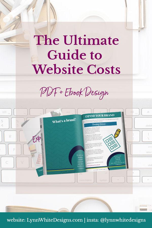 PDF and ebook design at Lynn White Designs