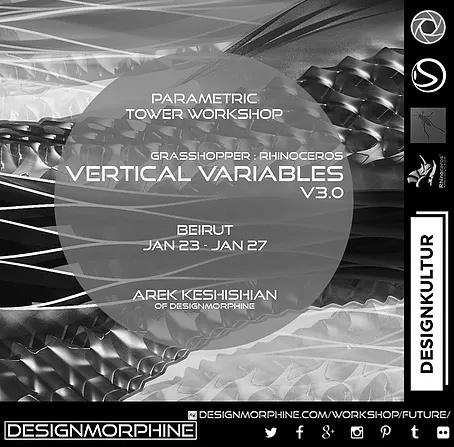 VERTICAL VARIABLES BEIRUT DESIGNMORPHINE x designkultur - JAN 23-27 2019