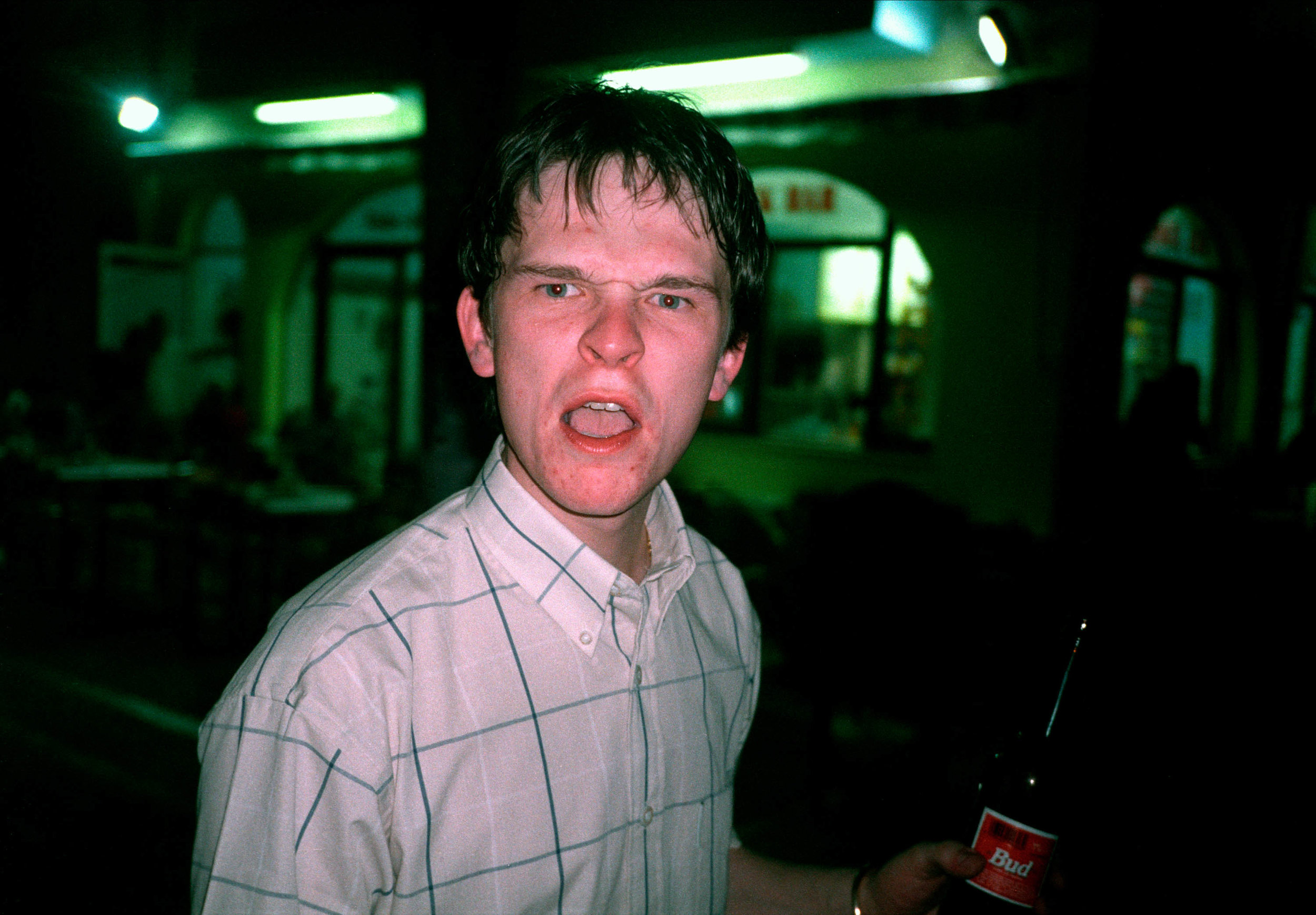 Lads, 1997 – 2004 - Project documenting the hedonistic culture of young working-class men in the late 1990's and early 2000's