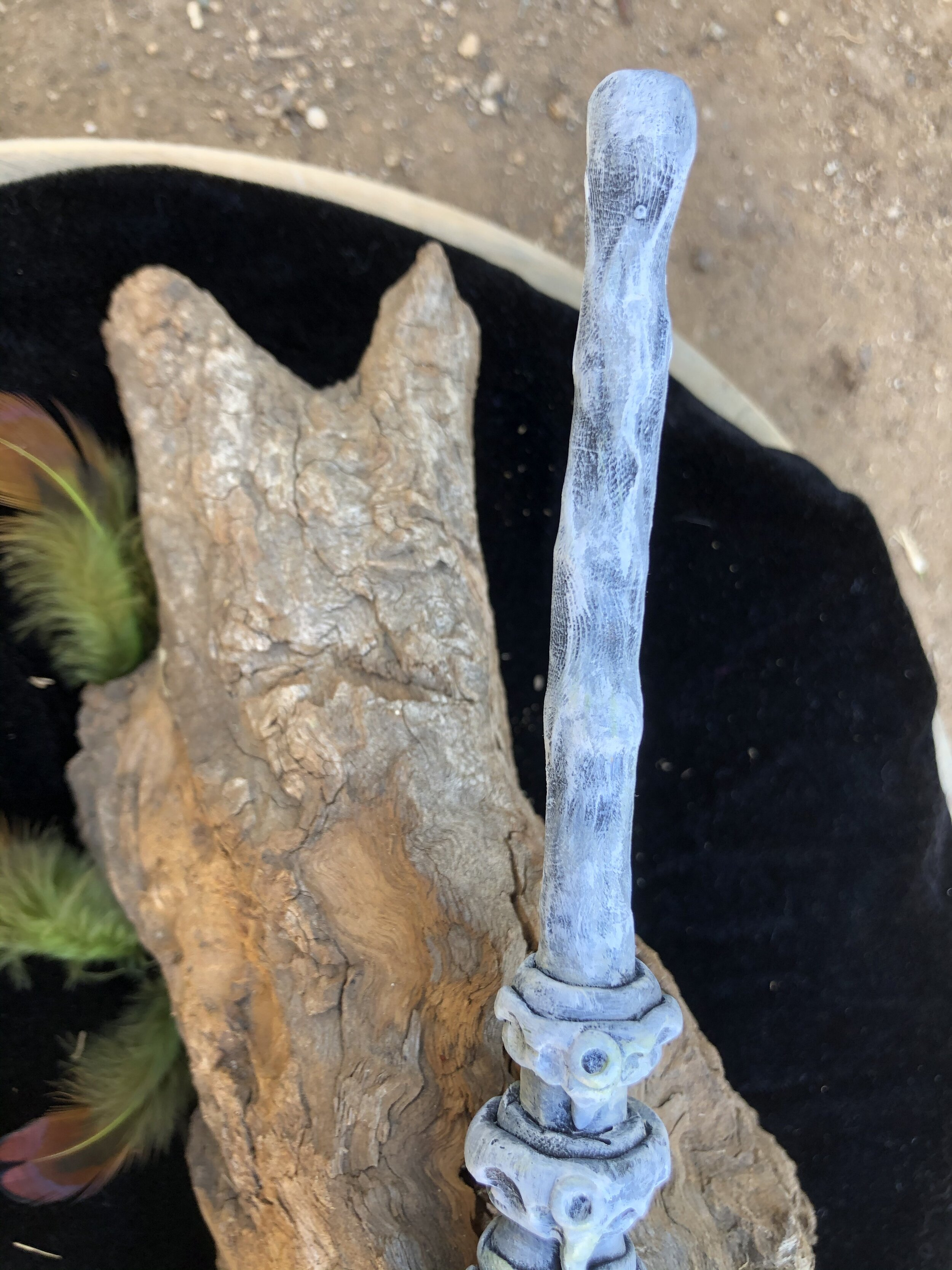 Bone Dragon Wand Ooak Sweet Issues Art