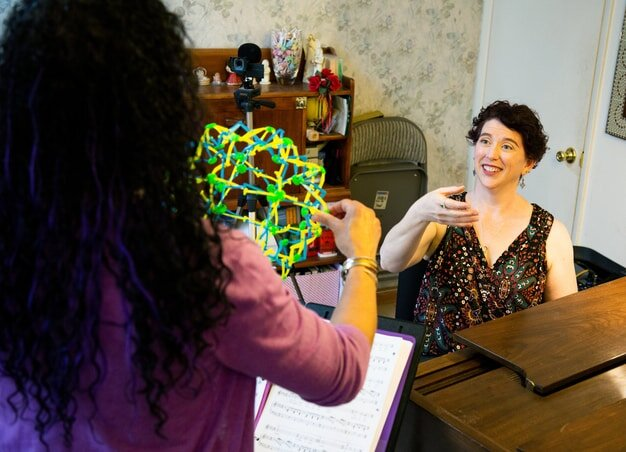 Play with toys to hack your singer's brain
