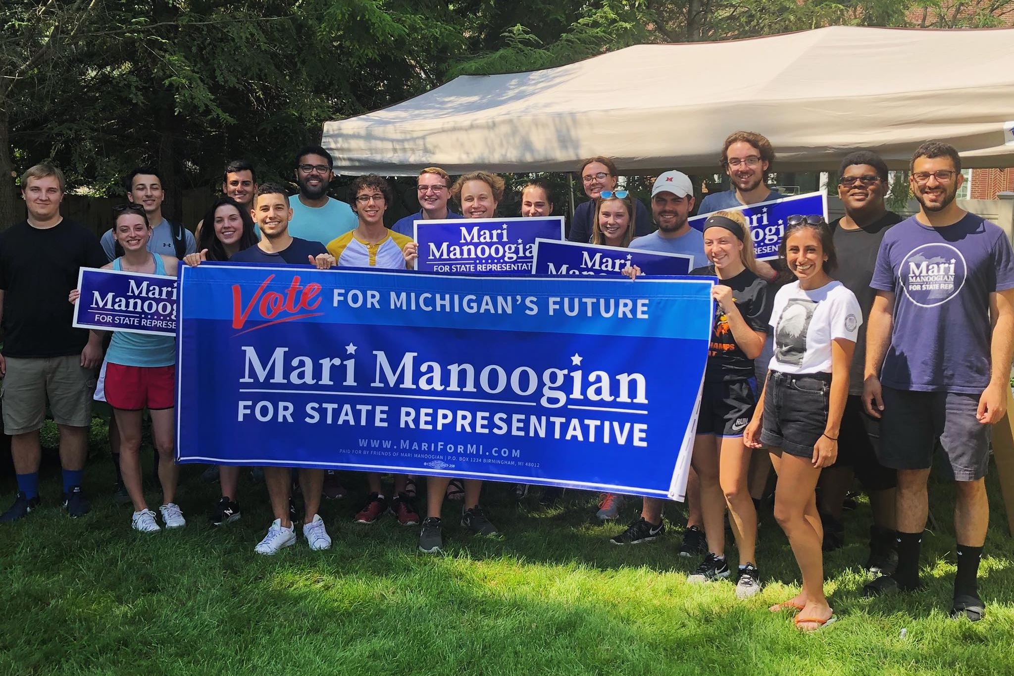 Take Action - Want to get involved in our campaign? Join #TeamMari!