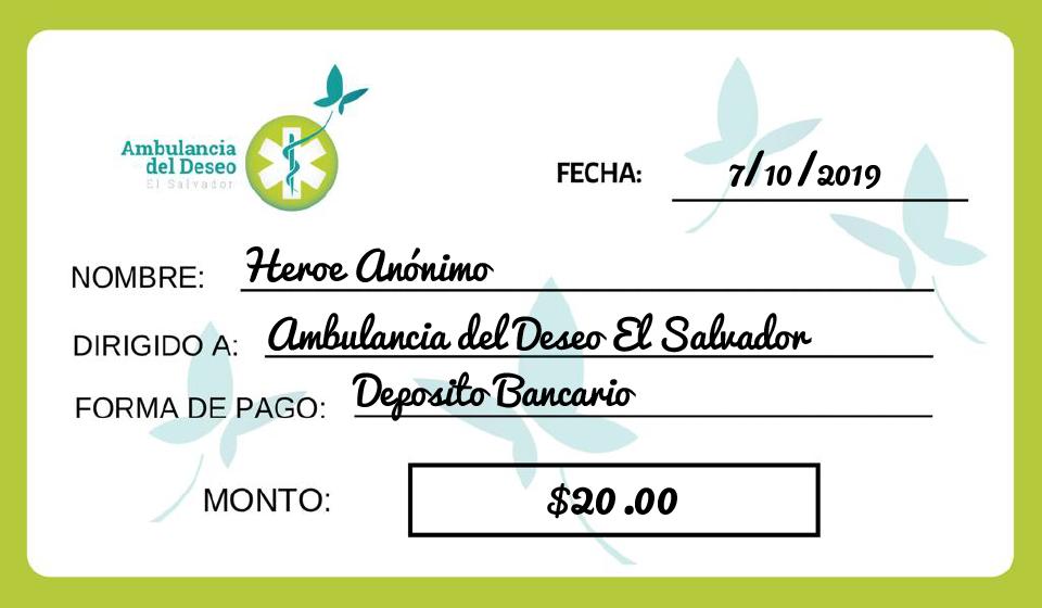 - Agradecemos su apoyo por esta hermosa donación. 🦋💚