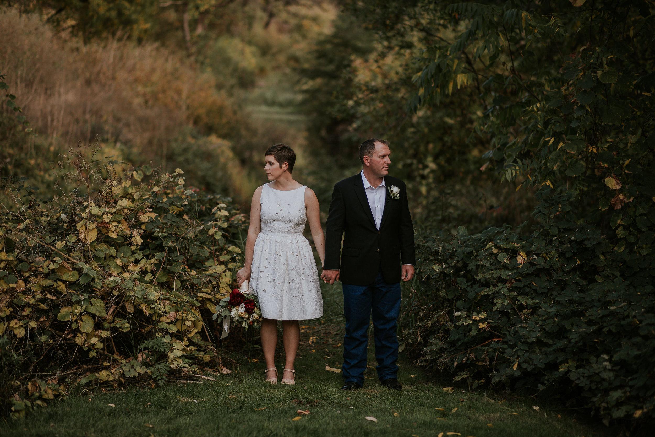 Annie & Trevor   wedding