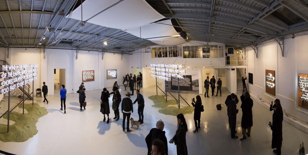 Robert Montgomery, Galerie Nuke