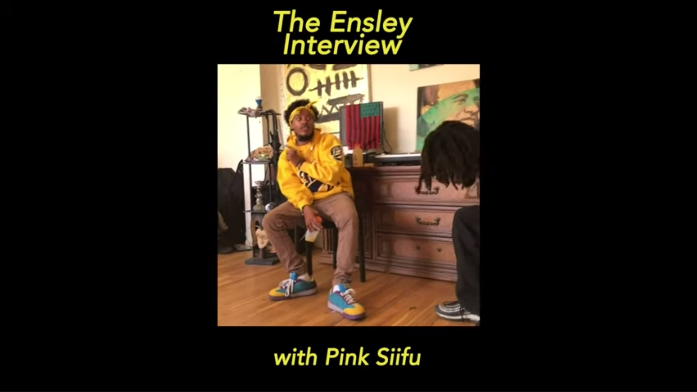 "(2019) Directed + Edited :: Pink Siifu ""Ensley"" Album interview"