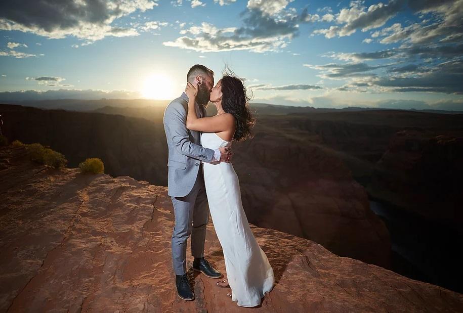 Olivia -Sarah Gown - Travis Shoots - Antelope Canyon