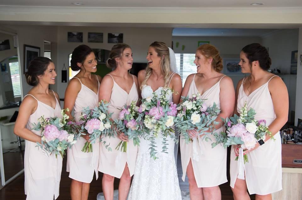 Sarah's Bridesmaids - Photography by Nicole May